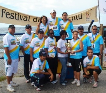 "Diadomingo awor Thrill Walkers S.V. ta organisa    su grandioso ""Nature Walk and Run"""