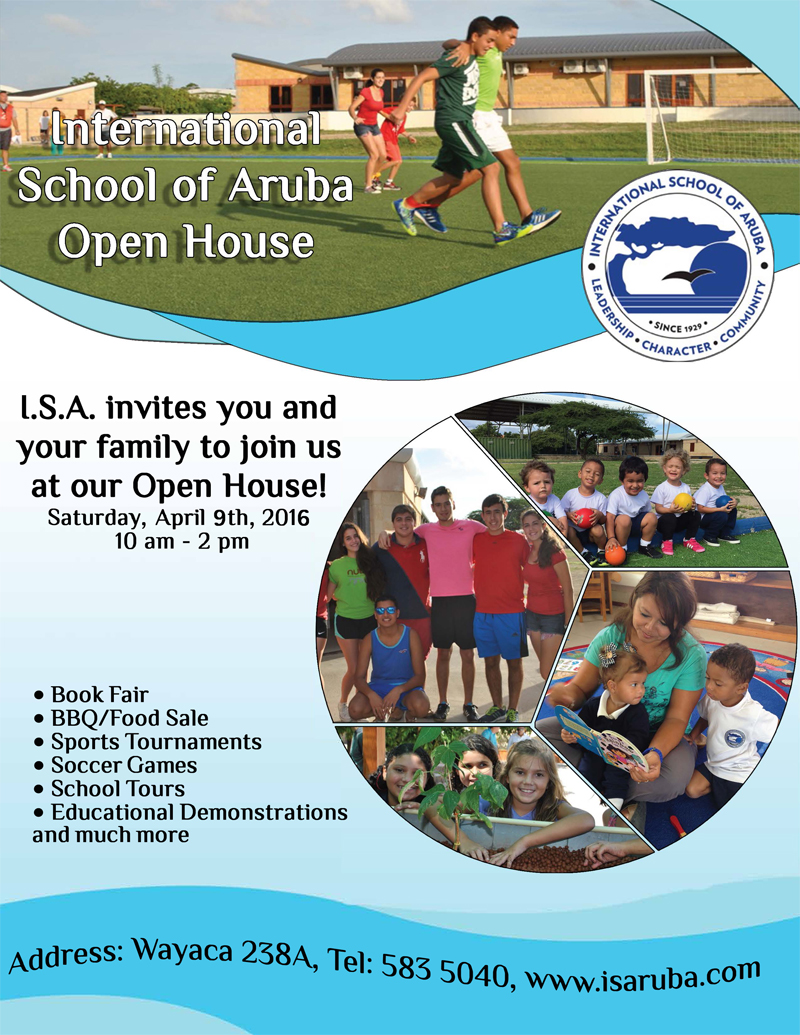International School of Aruba tin su Open Dag