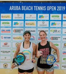 Beach Tennis Aruba Open Beach Tennis 2019 Resultado Categoria Singles